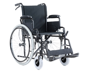 Orthonica 24in Wheelchair with Smooth Gl