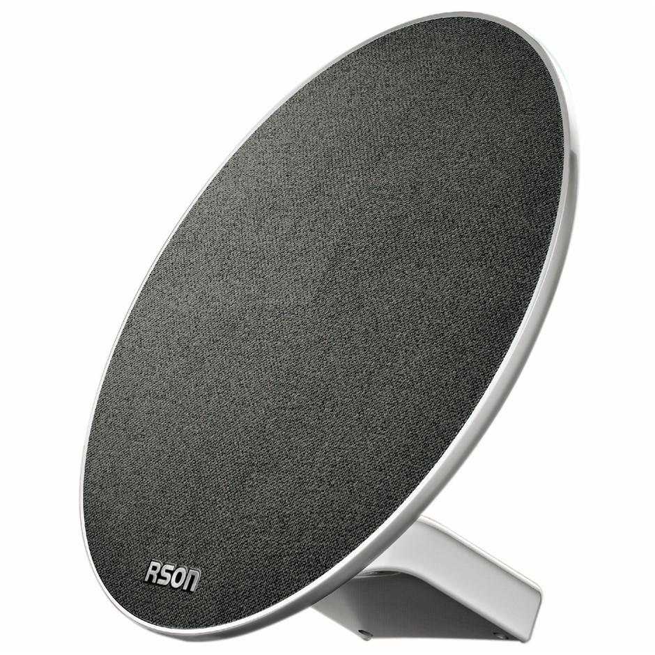 RSON Discus Bluetooth Wireless Speaker, 5w x 2, Built-In Subwoofer, Operati