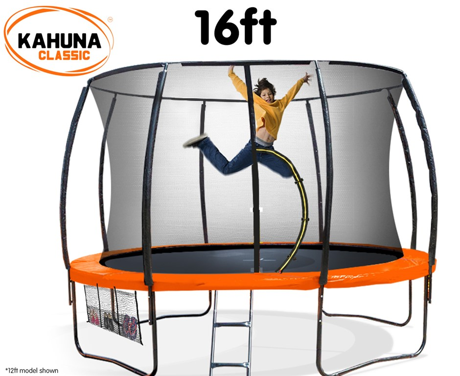 Kahuna Trampoline 16 ft - Orange
