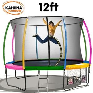 Kahuna Trampoline 12 ft - Rainbow