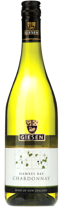 Giesen Chardonnay 2018 (6 x 750mL), Hawkes Bay, New Zealand.