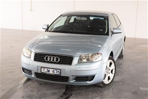 2005 Audi A3 20 Fsi Ambition 8p Automatic Hatchback Auction 0001
