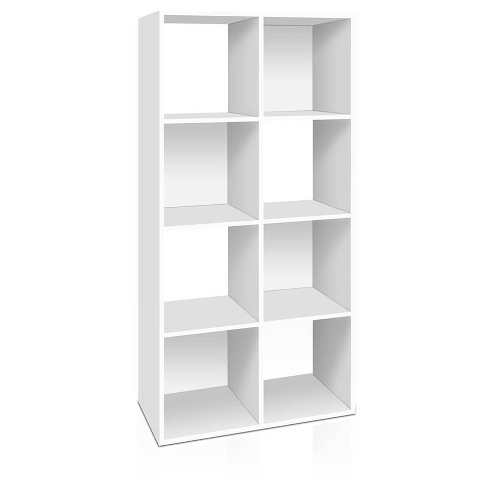 Artiss 8 Cube Display Storage Shelf - White