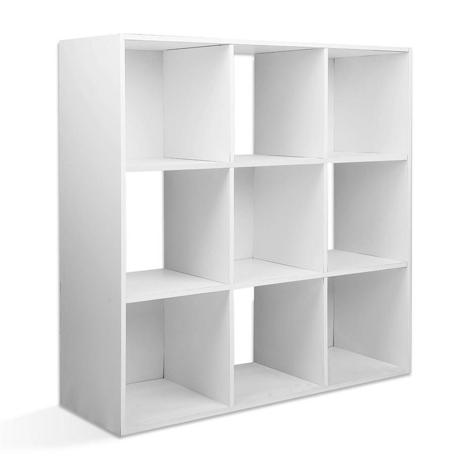 Artiss 9 Cube Display Storage Shelf White