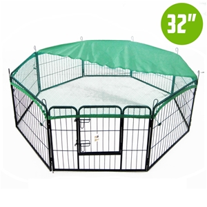 8 Heavy Duty Panel Foldable Pet Playpen