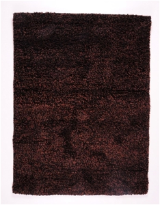 Vegas Wool Rug Black/Brown