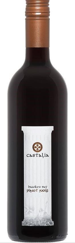 Castalia Pinot Noir 2020 (12 x 750mL), Hawke`s Bay, NZ.