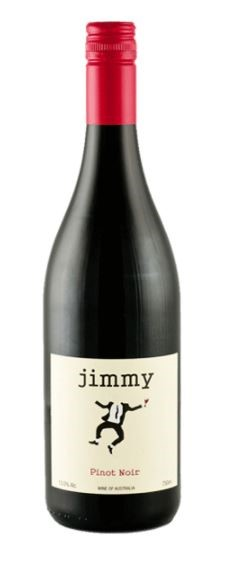 Jimmy Grampians Pinot Noir 2017 (12 x 750mL) VIC. Screwcap Closure.