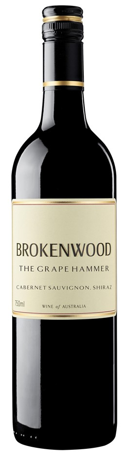 Brokenwood Grape Hammer Cabernet Sauvignon Shiraz 2015 (12 x 750mL), AUS