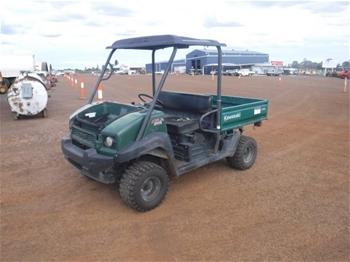 2011 Kawasaki KAF950F Mule 4010