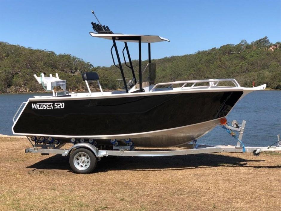 Boat - 2019 Wildsea 520 Center Console Aluminium Custom Plate Boat