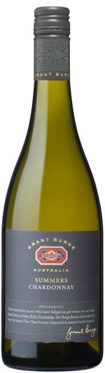 Grant Burge `Summers` Chardonnay 2017 (6 x 750mL), Adelaide Hills. SA.