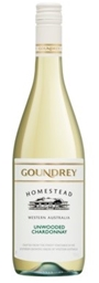 Goundrey `Homestead` Unwooded Chardonnay 2018 (6 x 750mL), WA.