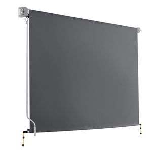 Instahut 2.7m x 2.5m Retractable Roll Do