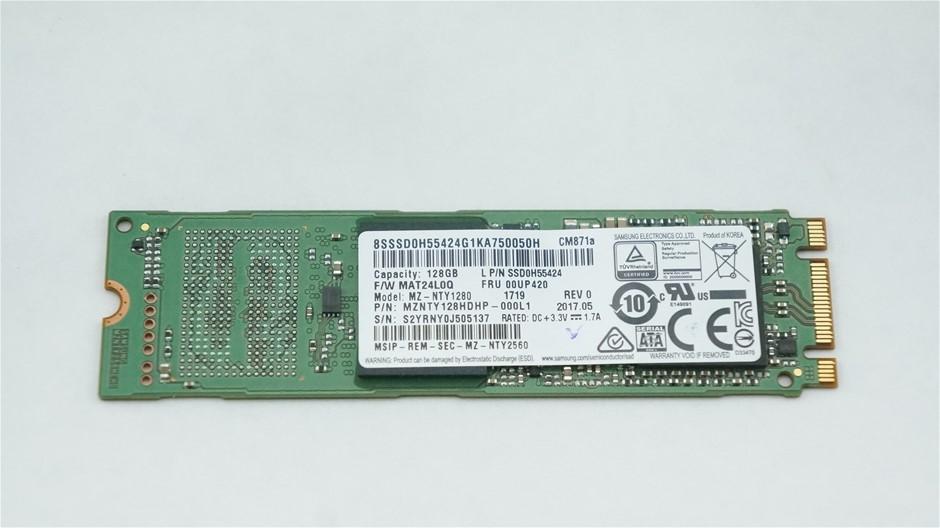 Samsung M.2 2280 SATA 128GB Solid State Drive