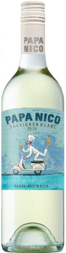Papa Nico Sauvignon Blanc 2018 (12 x 750mL), SA.