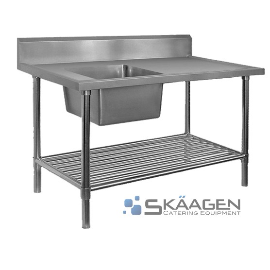Unused Stainless Steel Sink 1700 x 600 Left positioning Dimension