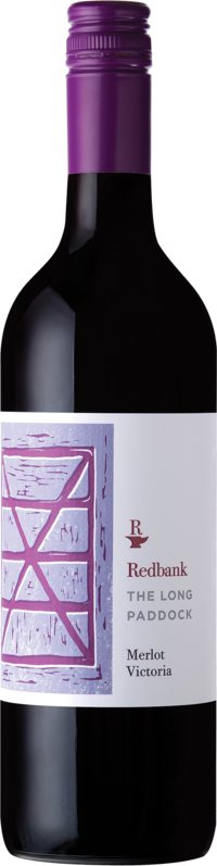 Redbank `The Long Paddock` Merlot 2017 (12 x 750mL), VIC.