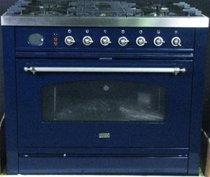 Ilve 90cm Freestanding Oven Model P90nmp Blx Auction