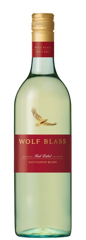 Wolf Blass `Red Label` Sauvignon Blanc 2018 (6 x 750mL). SE AUS.