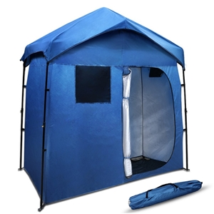 Portable Pop Up Outdoor Toilet and Chang