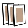 3 Piece Photo Frame Set - Black
