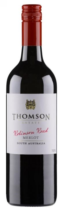 Thomson Estate Robinson Road Merlot 2017 (12 x 750mL) SA