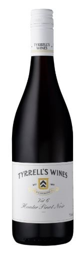Tyrrell's `Vat 6` Pinot Noir 2017 (12 x 750mL), Hunter Valley, NSW