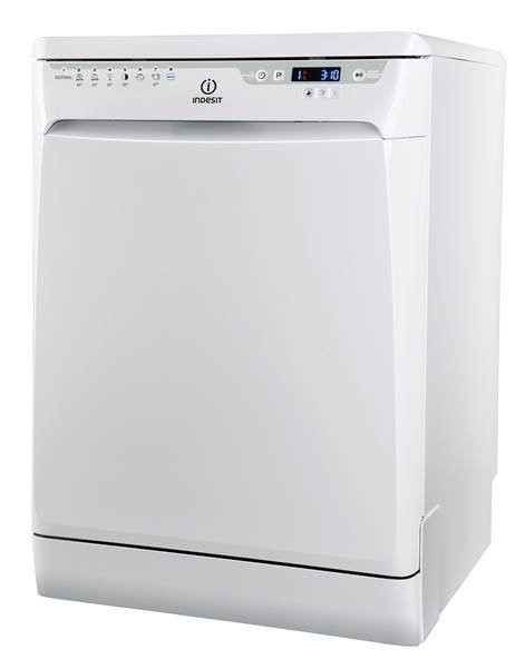 Indesit DFP58M94AAUS 60cm Freestanding Dishwasher (White)
