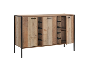 Wine Cabinet with 2 Strorage and open Se