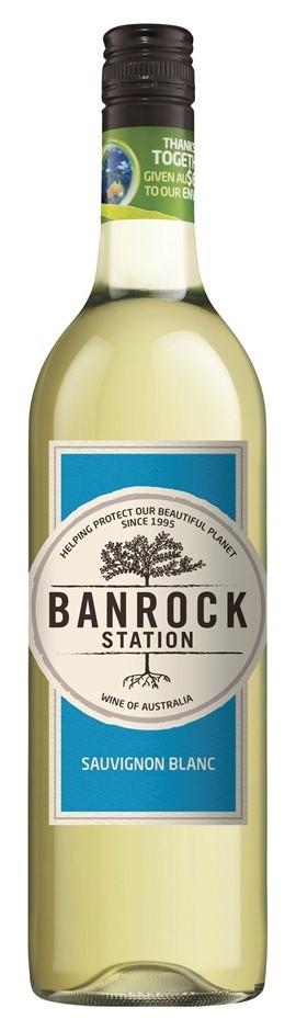 Banrock Station Sauvignon Blanc 2017 (6 x 750mL), SA.