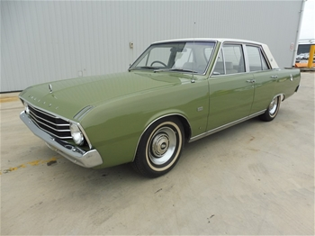 1969 Chrysler Valiant VF Regal RWD Automatic Sedan