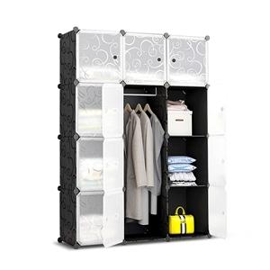 12 Cube Portable Storage Cabinet Wardrob