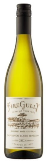 Fire Gully Sauvignon Blanc Semillon 2017 (12 x 750mL), Margaret River, WA.