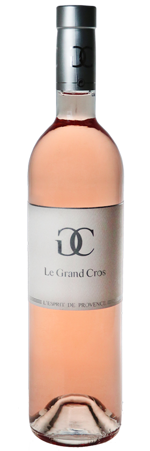 Domaine Le Grand Cros `L'Esprit` Rose 2017 (12 x 750mL), France.