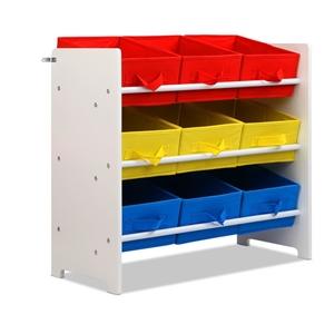 Artiss 9 Bin Kids Wooden Storage Cabinet