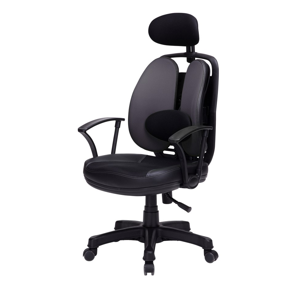 Korean Office Chair SUPERB - GREY