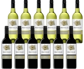 Wayville Estate Chardonnay & Shiraz (12 x 750mL) Mixed Pack