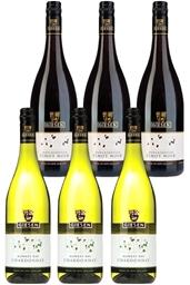 Giesen Pinot Noir & Chardonnay  (6 x 750mL) Mixed Pack