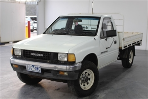 1990 Holden Rodeo 4WD Manual - 5 Speed Cab Chassis