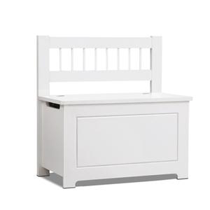 Artiss Kids Toy Box Storage Cabinet - Wh