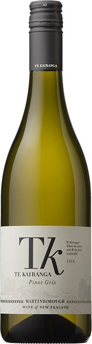 Te Kairanga `Estate` Pinot Gris 2017 (12 x 750mL), Martinborough, NZ.