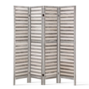 Artiss 4 Panel Foldable Wooden Room Divi