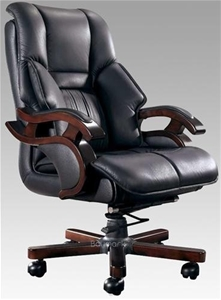 Italian Leather Office Chair Auction