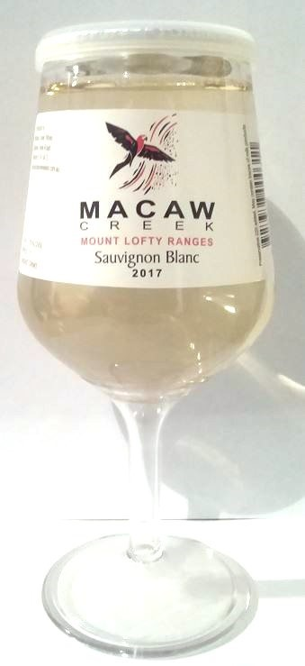 Macaw Creek Sauvignon Blanc 2017 Wine In a Glass (12 x 187mL) Mount Lofty