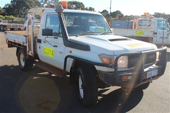 2012 Toyota LandCruiser Workmate VDJ79R 4WD Utility