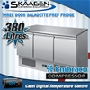 Unused Three Door Saladette Prep Fridge - ES03-51