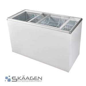 Unused Glass Top Chest Freezer