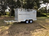 New 2019 Galvanised Dual Axle 12' x 6' Cattle Trailer