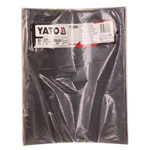 YATO 50 Sheets Waterproof Sand Paper, Gr